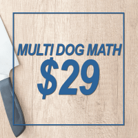 MBARQ Solutions Multiple Dog Math Price Icon